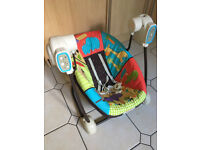 Fisher-Price SpaceSaver Swing and Seat - Luv U Zoo