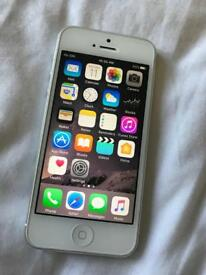 Apple iPhone 5 - 16gb silver mint excellentgrade A