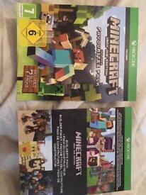Xbox one Minecraft bundle.
