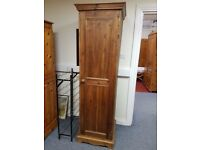 Solid pine single wardrobe, excellent quality and condition