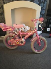 Girls 14inch bike