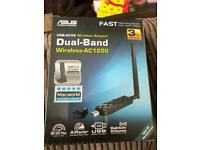 ASUS USB-AC56 duel band wireless adaptor