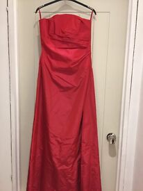 Gorgeous monsoon size 10 ball gown/ party frock reduced to £25.00