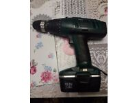 Wicks WCD156V cordless drill 15,6v Hammer drill 15 settings .FREE used BATTERY