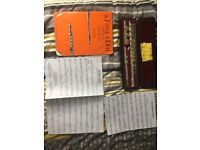 Yamaha 211SII flute and case and music