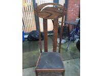 Large throne chair Charles rennie macintosh style