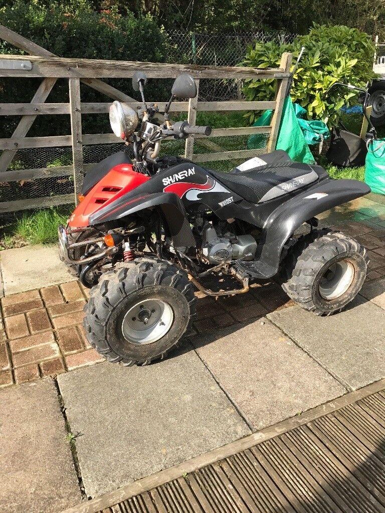 Quad bike adult size spares/repairs project 110cc bargain!