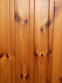 Tongued and grooved panel