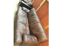 ***3+1 leather sofa set*** Can deliver