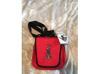 Red super Mario DS bag