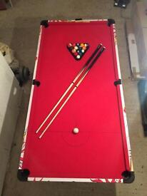 IMMACULATE CONDITION! POOL TABLE/ AMERICAN POOL TABLE