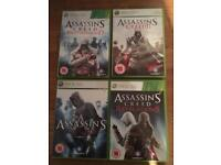 Assassins Creed bundle for Xbox 360