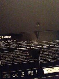 "37"" Toshiba tv"