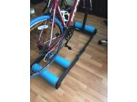 Cycling rollers Tacx Antares with front stand