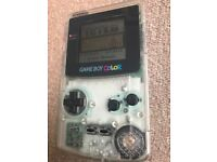Nintendo Game boy color with 8 games