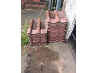 28 double roman roof tiles free to collector