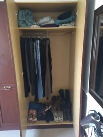 Wardrobes and bedside drawd
