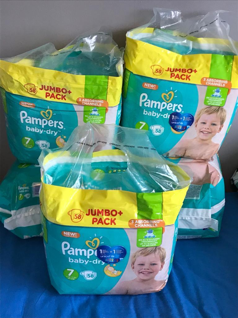 Size 7 pampers
