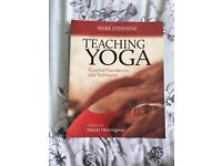 BRAND NEW TEACHING YOGA ESSENTIAL FOUNDATIONS AND TECHNIQUES BOOK