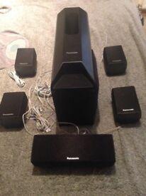Panasonic Suround Sound Speakers