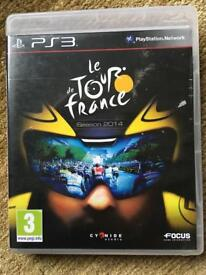 le Tour de France 2014 and Fifa15 for PS3