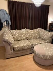 Sofa and stool