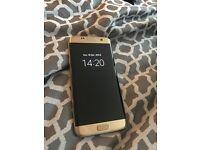 Samsung S7 edge 32GB Gold (PRICE NEGOTIABLE)