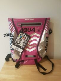 Oxford Aqua V20 Waterproof 20 Ltr Litre Back Pack Pink ONLY