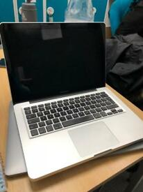 "MacBook Pro mid 2012 13"" upgraded to 8gb memory and 240gb SSD"