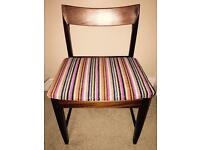 Vintage Reupholstered Kitchen/Dining Chair