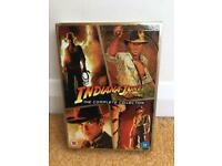 Indiana Jones DVDs - The Complete Collection