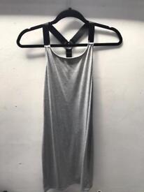 Missguided Strap back grey dress size 12