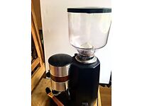 Commercial electric coffee grinder