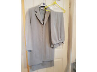 3 PIECE SUIT SKIRT, TROUSERS AND JACKET