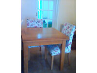 Dining Table plus 2 chairs