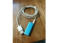 Apple iPod shuffle 3rd Generation (Late 2009) BLUE (4GB) GOOD CONDITION AND FULLY WORKING