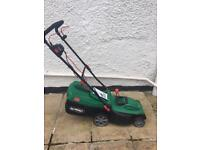 Qualcast electric mower, roller, 1600w.