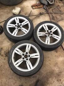 4 Seat Ibiza wheels 5x100