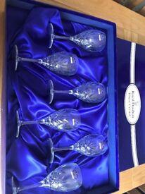 Royal Doulton Crystal Juliette Wine Glasses (Set of 6)
