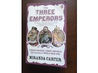 The Three Emperors by Miranda Carter