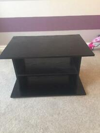 Tv stand black - collection Chester Le street £5