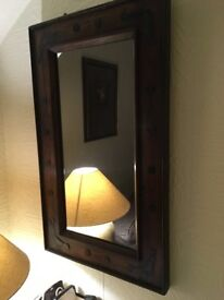 Small Sheesham Solid wood Mirror