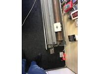 18.5 foot electric shop front shutter ono