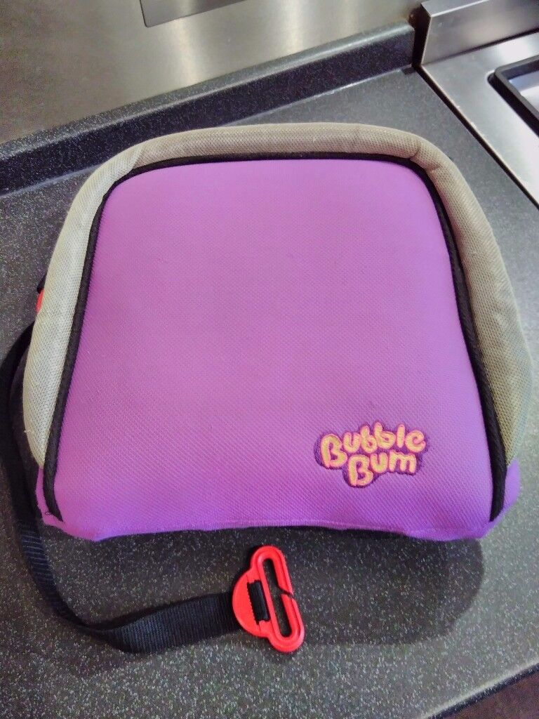 BubbleBum Car Booster Seat Very Portable