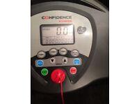 Confidence Gtr 1100 Watt heavy duty Foldaway Treadmill hardly used