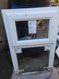 Zenith Staybrite pilkington Triple Glazed window white top hung 880 high 555 wide