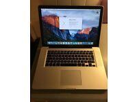 "Apple MacBook Pro 15"" 2.53Ghz Intel Processor 4GB Ram 250GB HDD"