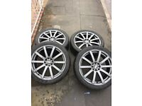 4stud alloy wheels