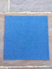 Premium Blue Carpet Tiles £1