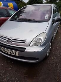 2005 CITROEN PICASSO 1.6 PETROL BREAKING FOR PARTS